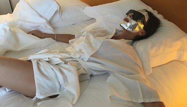Victoria Beckham Foil Mask
