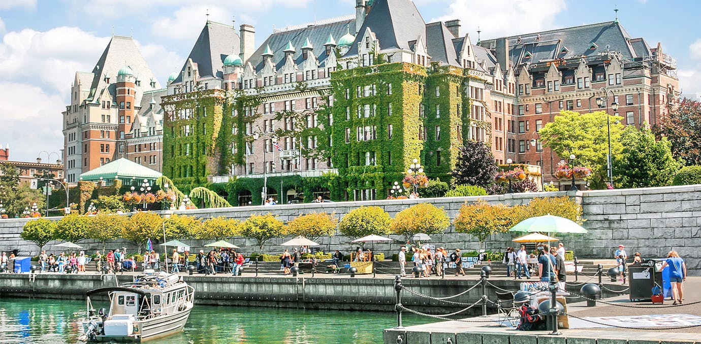 Victoria Canada luxury affordable vacations