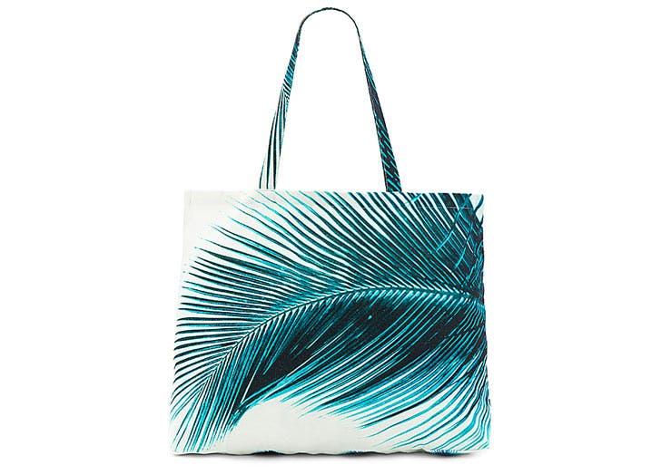 amuse society palm tote tropical prints NY1