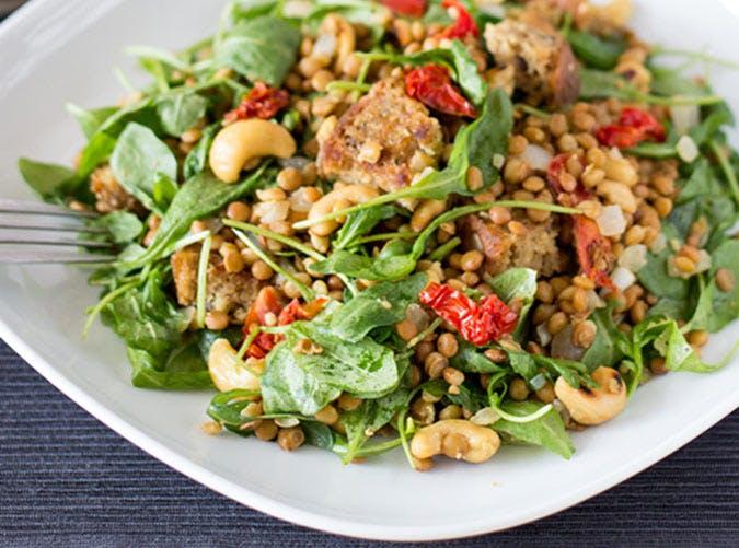 arugula lentil salad 501