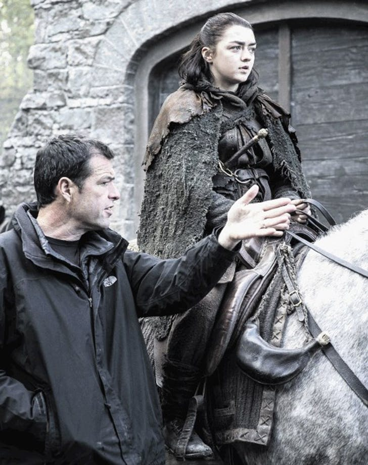 arya game of thrones behind the scenes