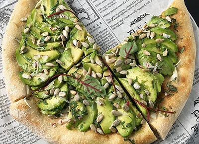 avocado pizza CAR