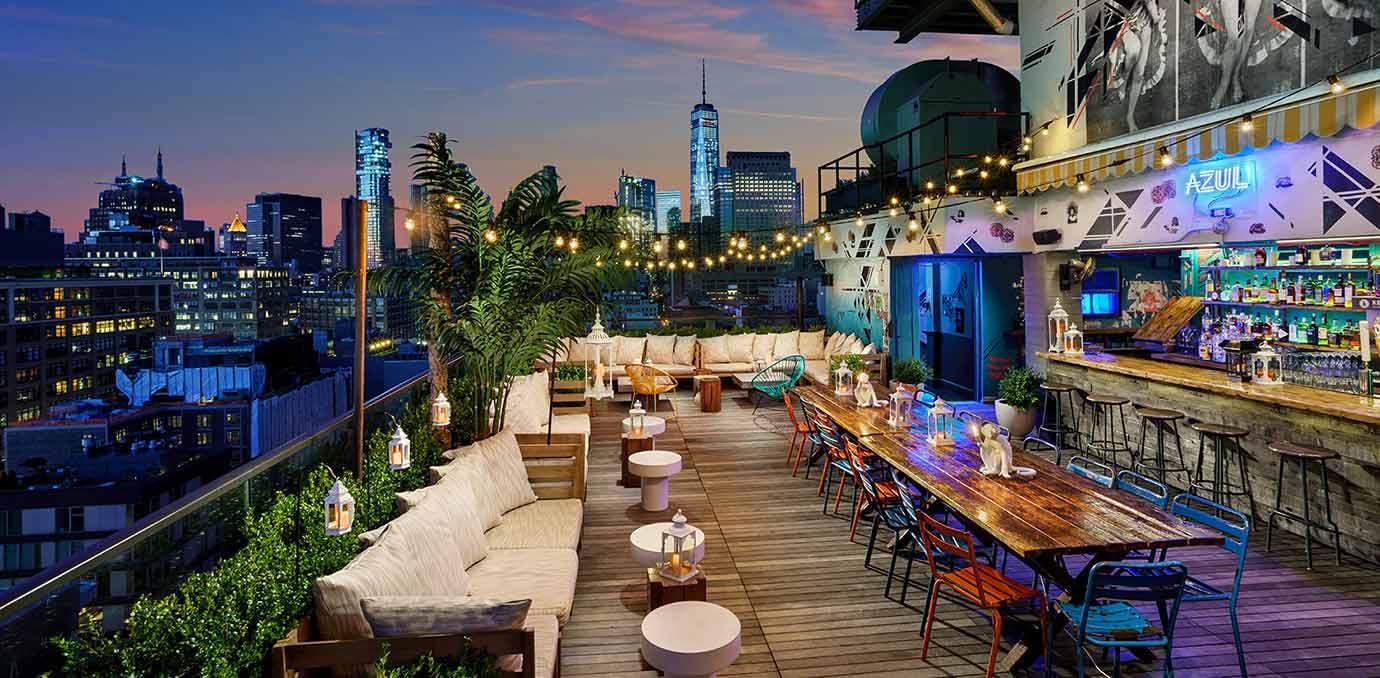 azul rooftop bars NY
