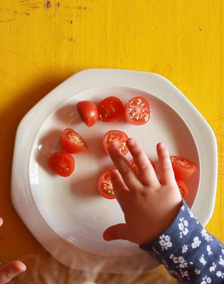 baby hands tomatoes 921