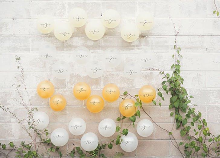 balloon wedding decor 6