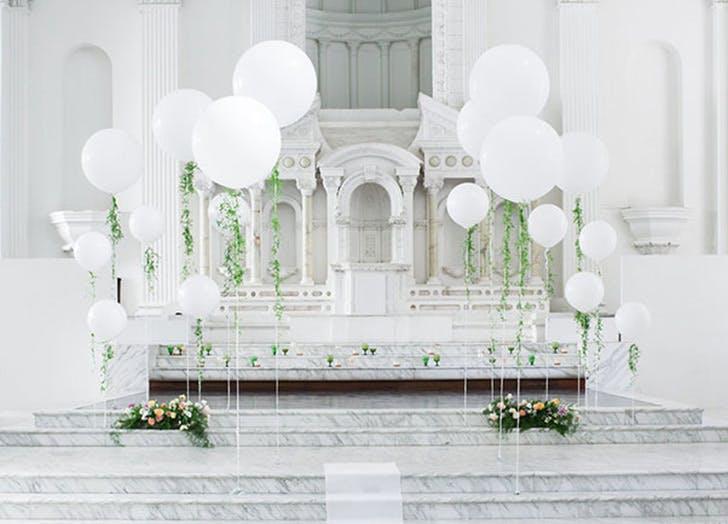 balloon wedding decor 7