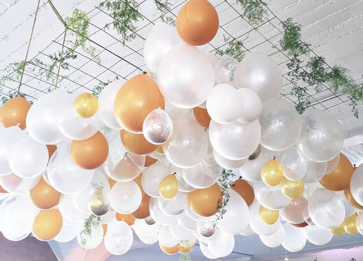 Balloons Are Our Favorite Wedding Decor Trend Purewow