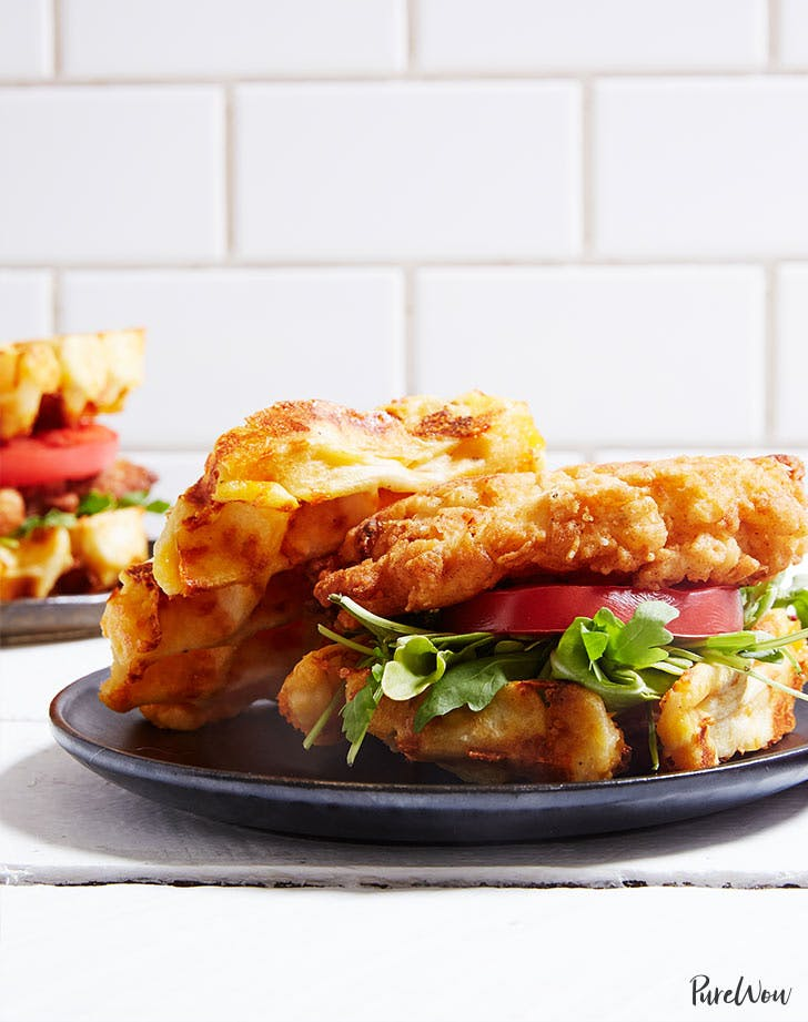 chicken waffle sandwich recipe LIST