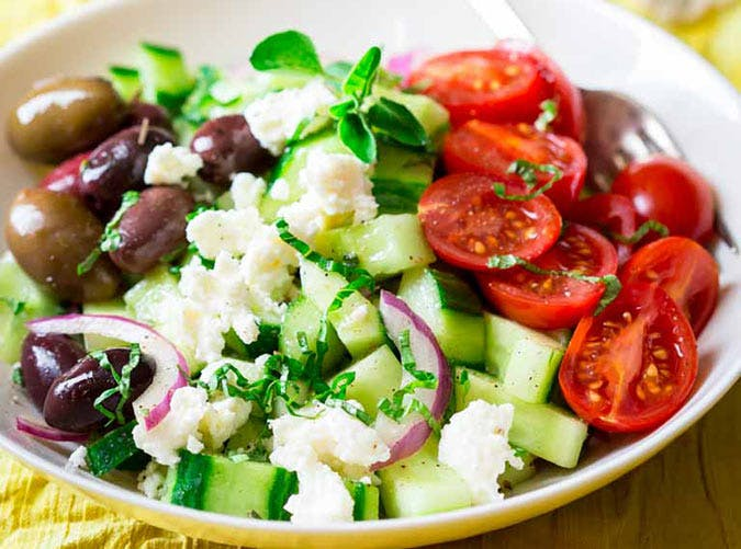 chopped greek salad 501