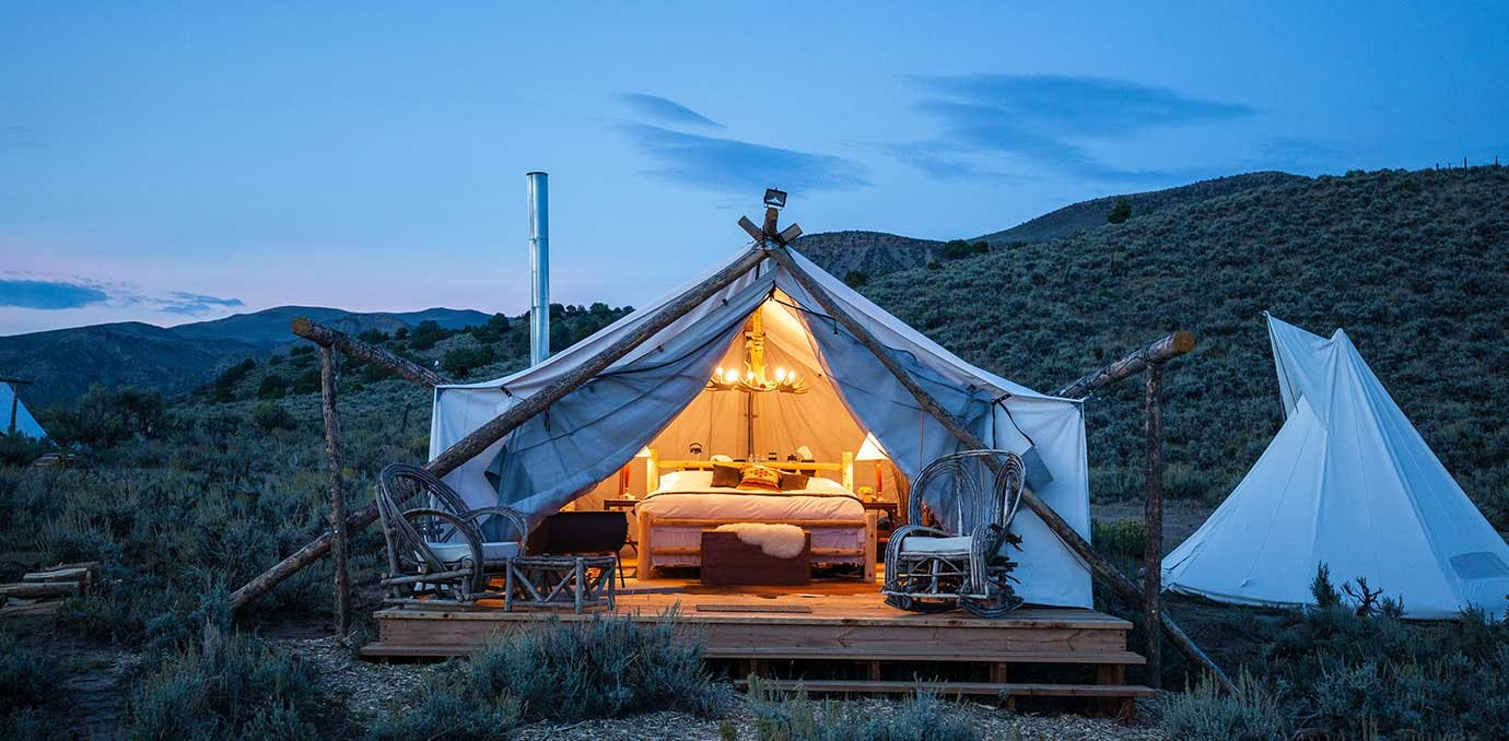 collective hudson valley glamping NY