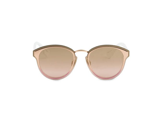 dior gold mirrored sunglasses