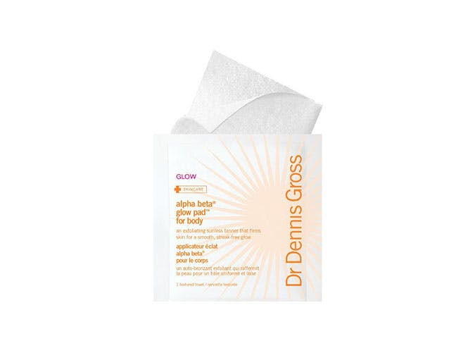 dr dennis gross self tan wipes USE