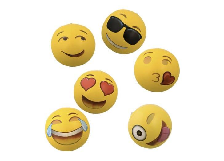 emoji beach balls