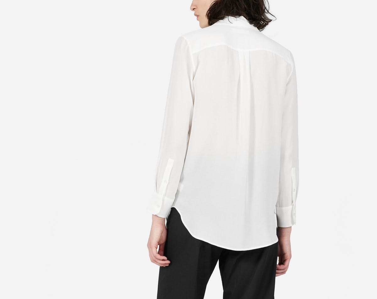 everlane white shirt los angeles