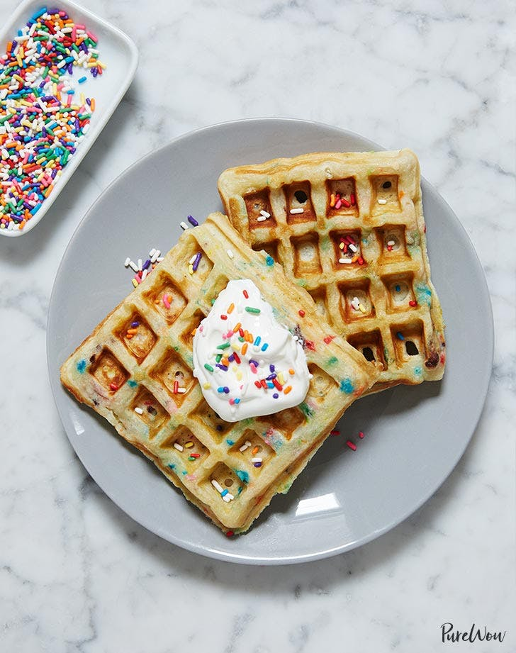 funfetti waffles recipe LIST