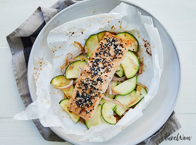 ginger parchment salmon purewow