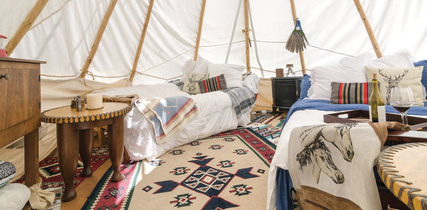 glamping california