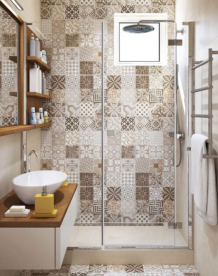 global bathroom tile trend 2