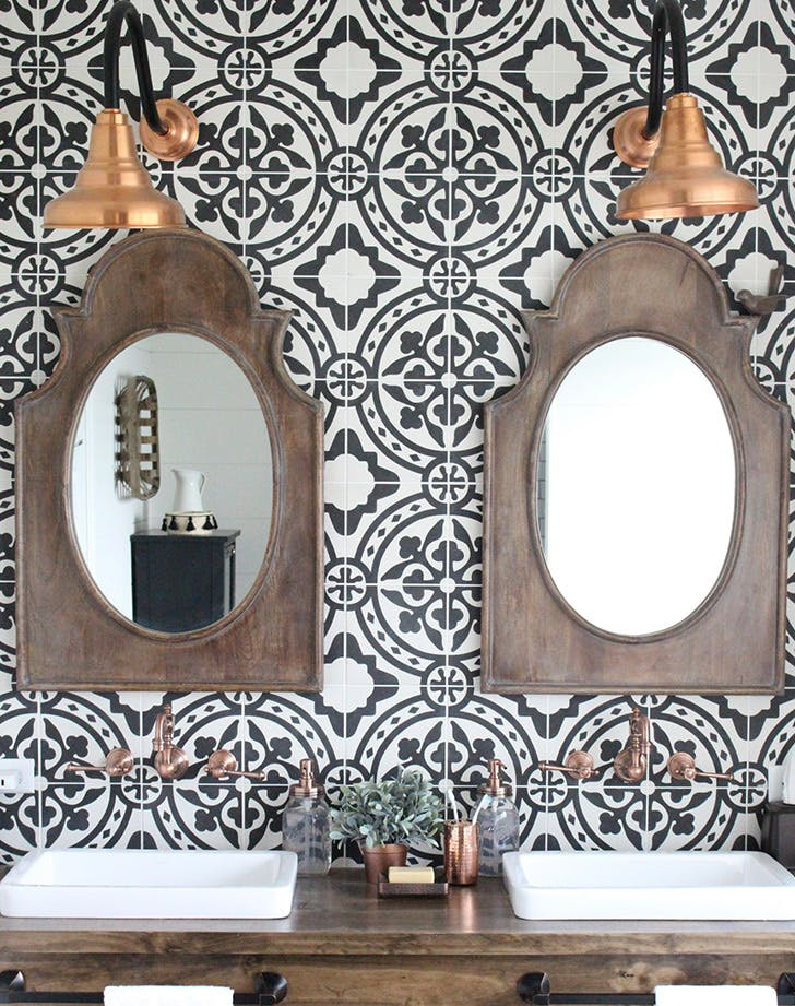 global bathroom tile trend 7