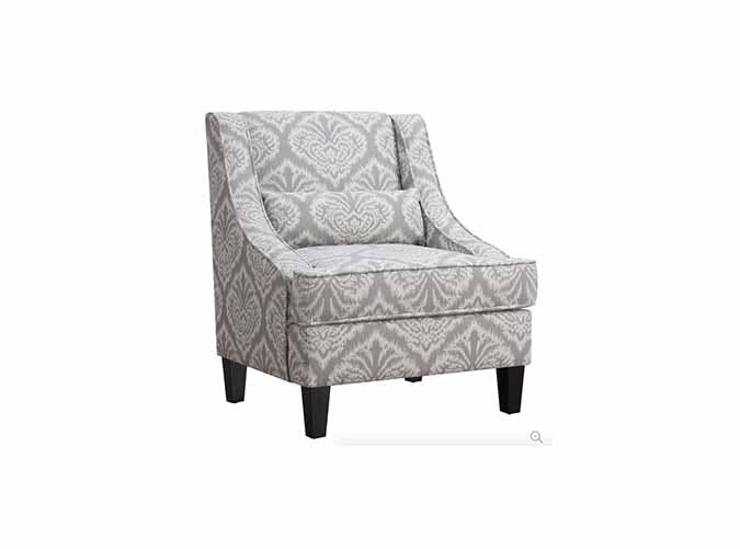 grey jacquard armchair under 300