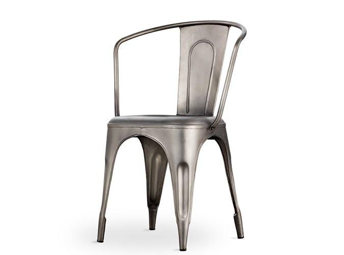 gunmetal RH chair