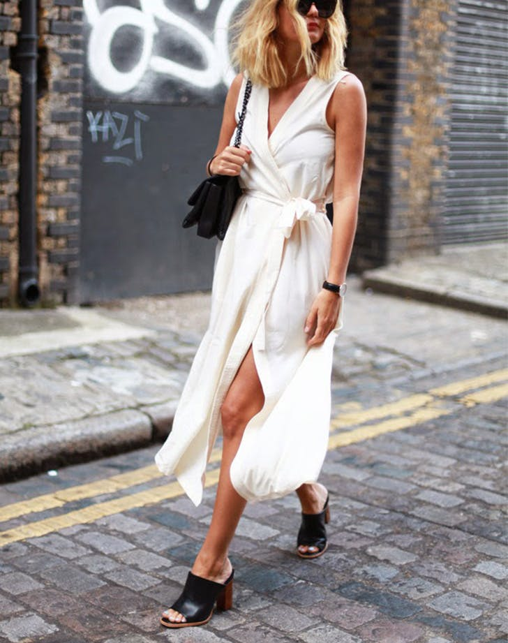 how to wear wrap dresses 6
