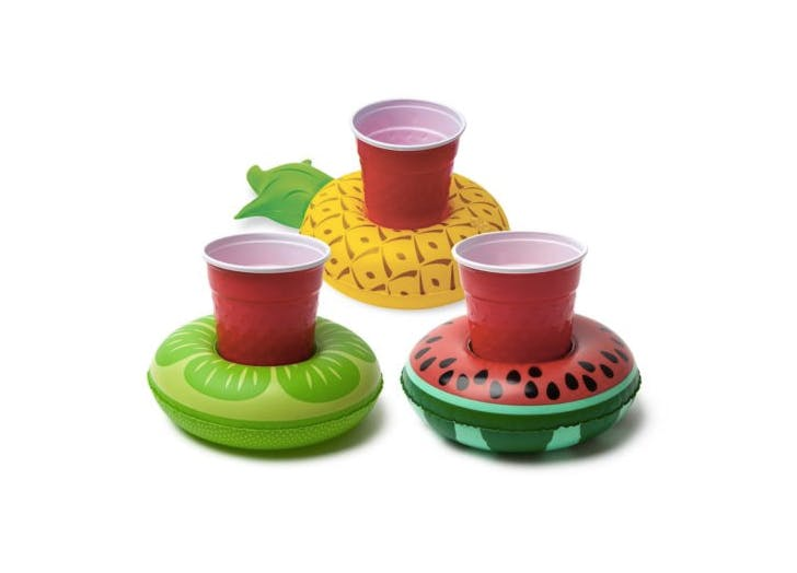 inflatable drink holders