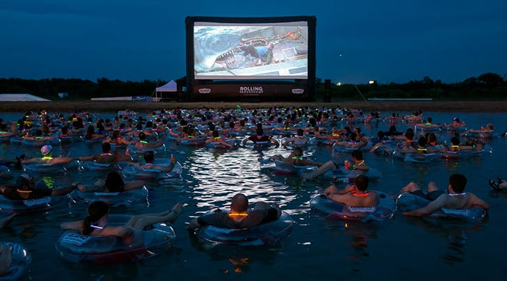 This Drive-In Wants You to Watch 'Jaws' While Floating in Water—If You Dare