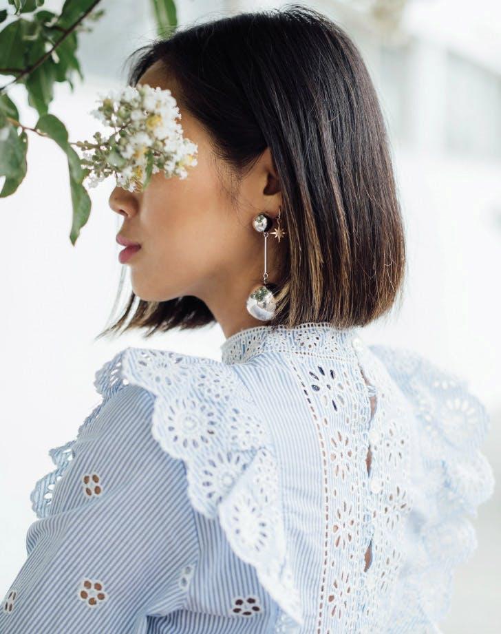 jewelry metal earrings