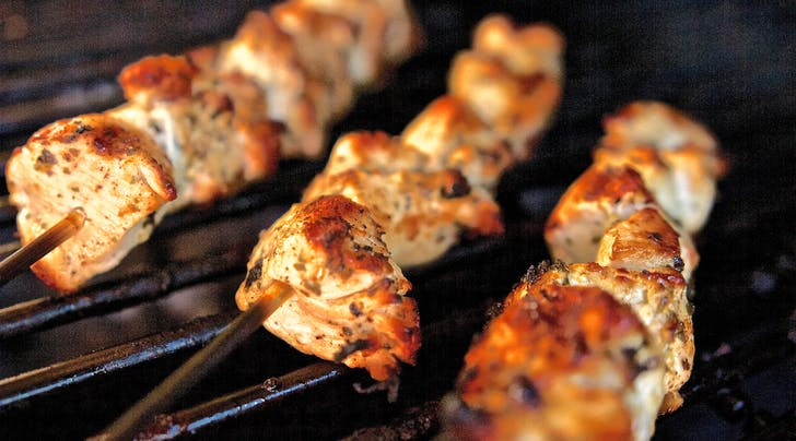 The Lazy Girl Way to Grill Kebabs