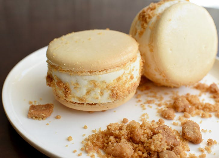 kreuther macaron ice cream sandwich frozen treats NY