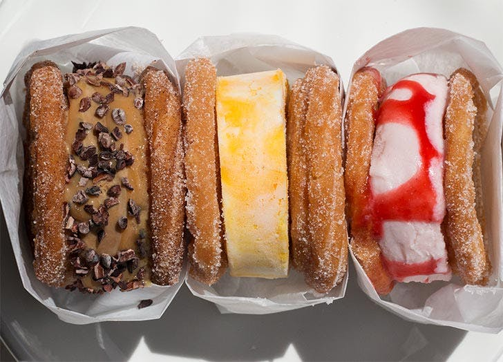 la sirena churro ice cream sandwich NY
