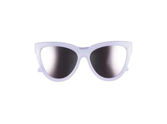 le specs lilac sunglasses