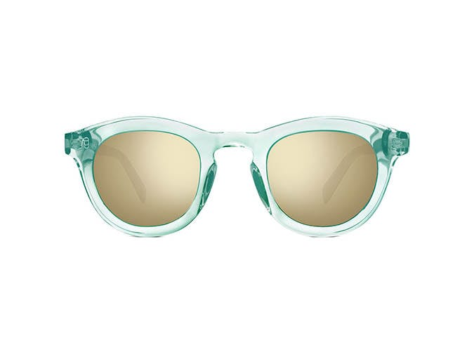 light blue warby parker sunglasses