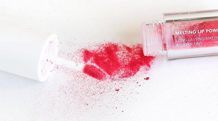 Have You Heard of Melting Lip Powder? Here's Why We're Obsessed