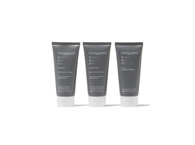 living proof travel hair kit USE