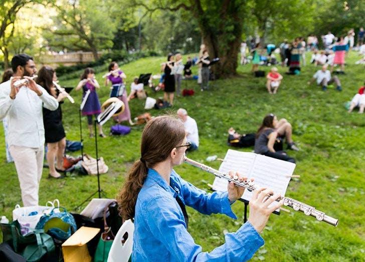 make music new york free culture NY