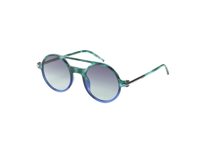marc jacobs blue and teal sunglasses