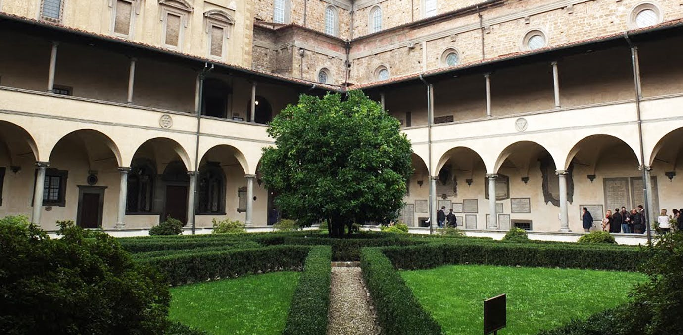 medical library courtyard florence day 4