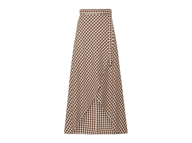 miguelina gingham skirt1