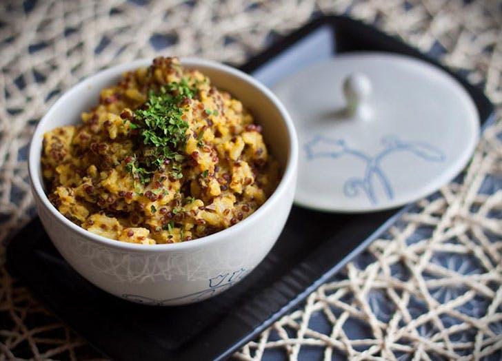 no cook summer dinners basmati quinoa