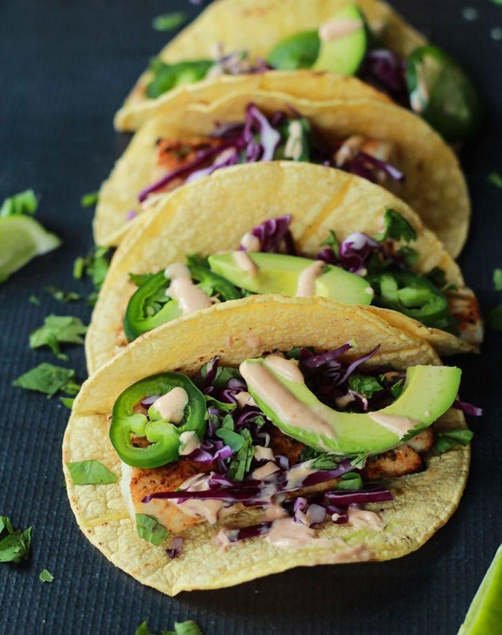 no cook summer dinners mahi mahi tacos