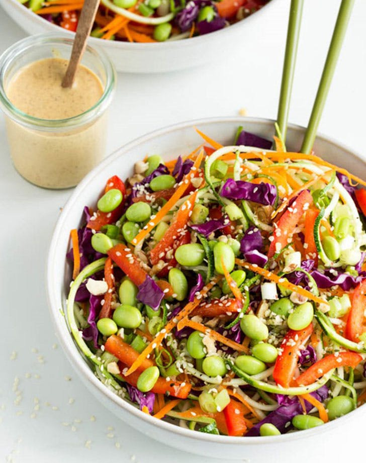 no cook summer dinners raw pad thai
