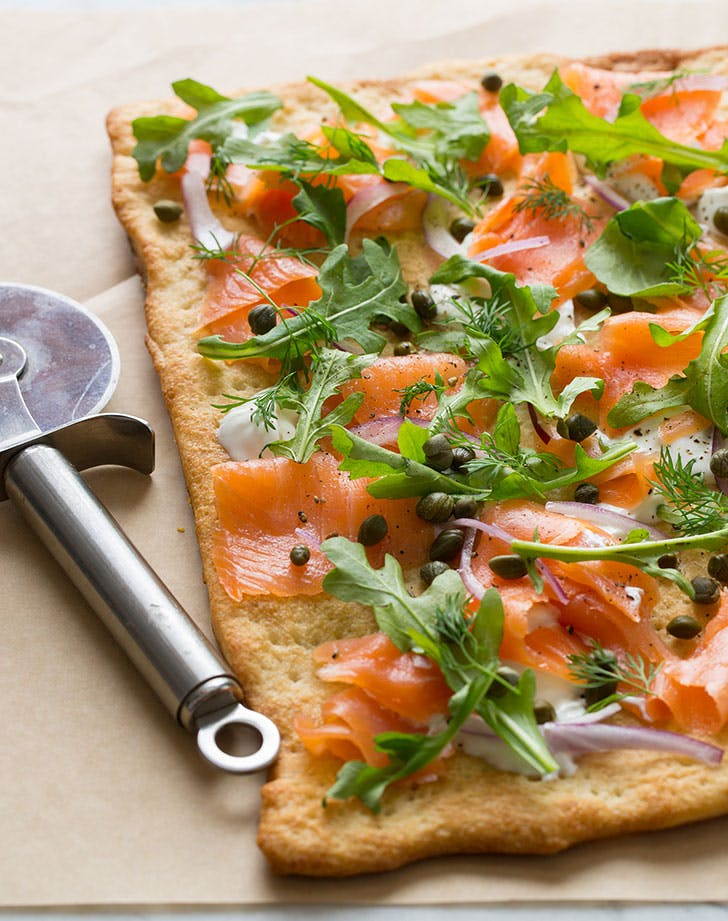 no cook summer dinners salmon pizza