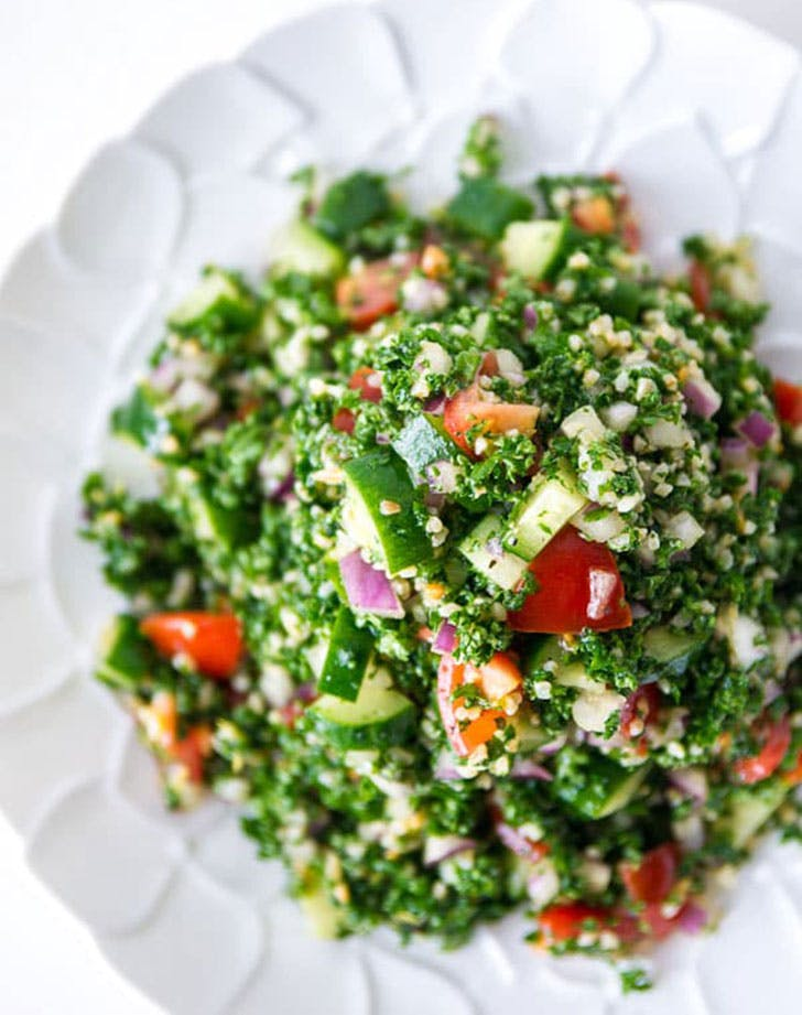 no cook summer dinners tabouleh