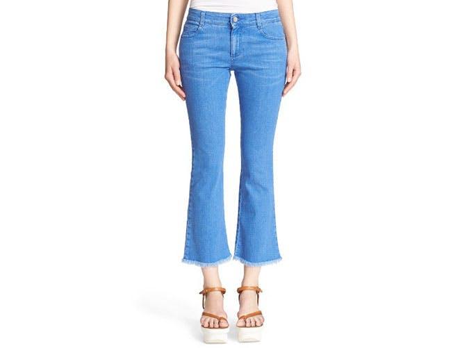 nordstrom sale frayed jeans