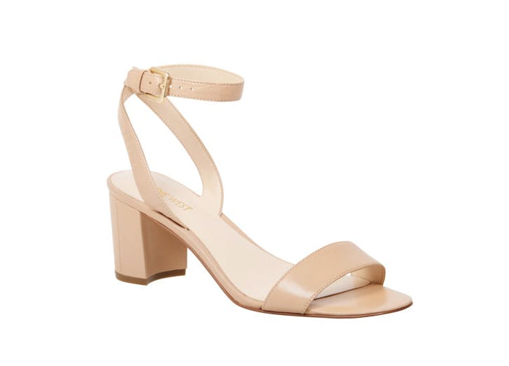 nude blook heels