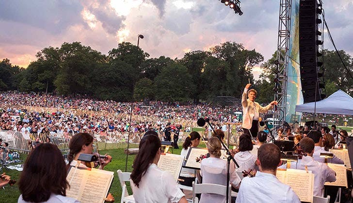 ny philharmonic concerts in the parks free culture NY