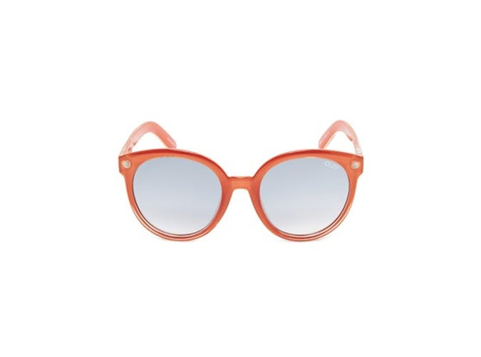 orange quay mirrored sunglasses