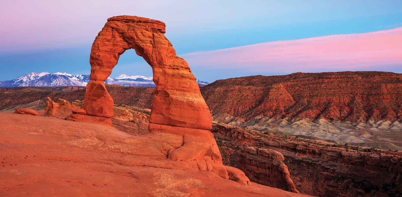 photogenic us arches